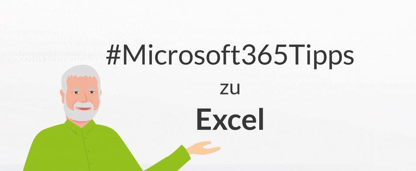 #Microsoft365Tipps zu Excel